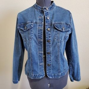 Live A Little  Jean Jacket, size L